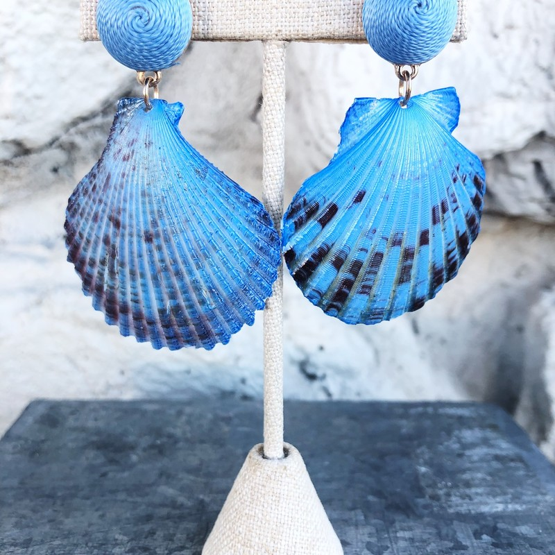 Core Seashell, Blue, Size: .