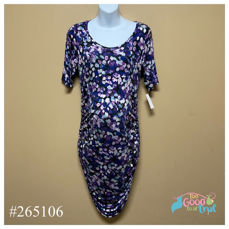 Motherhood Dress, Purple, Size: Medium<br /> Condition: Good