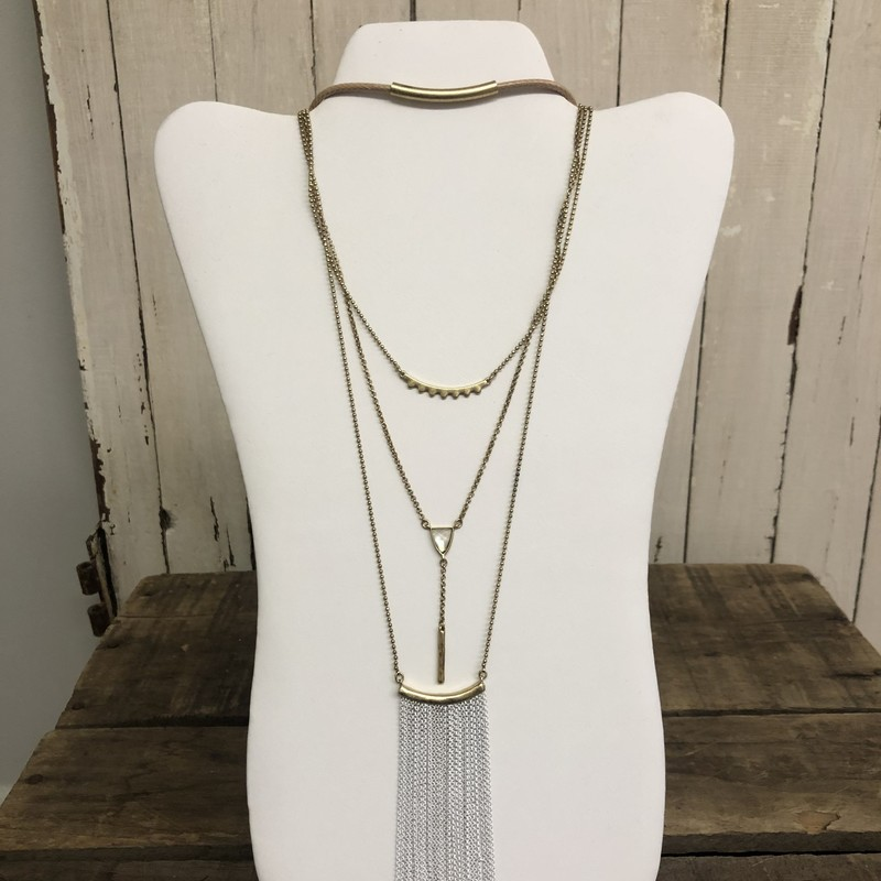 Necklace Lucky Brand.
