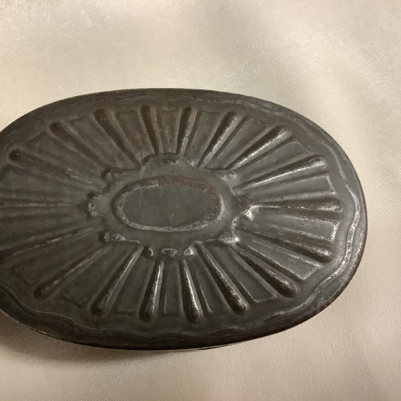 Civil War Era metal snuff box