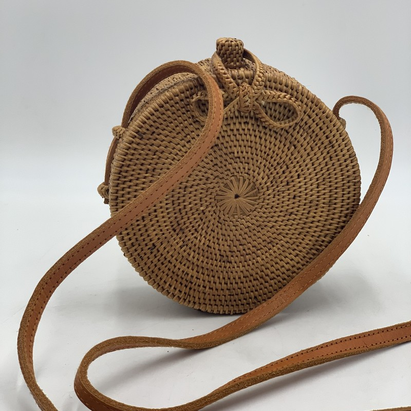 "Brother Vellies Nusa Disc, Natural, Size: OS<br /> <br /> condition: EXCELLENT<br /> <br /> Shoulder Strap Drop: 23.25""<br /> Height: 5.5""<br /> Width: 5.5""<br /> Depth: 2.75""<br /> <br /> original retail: $495"