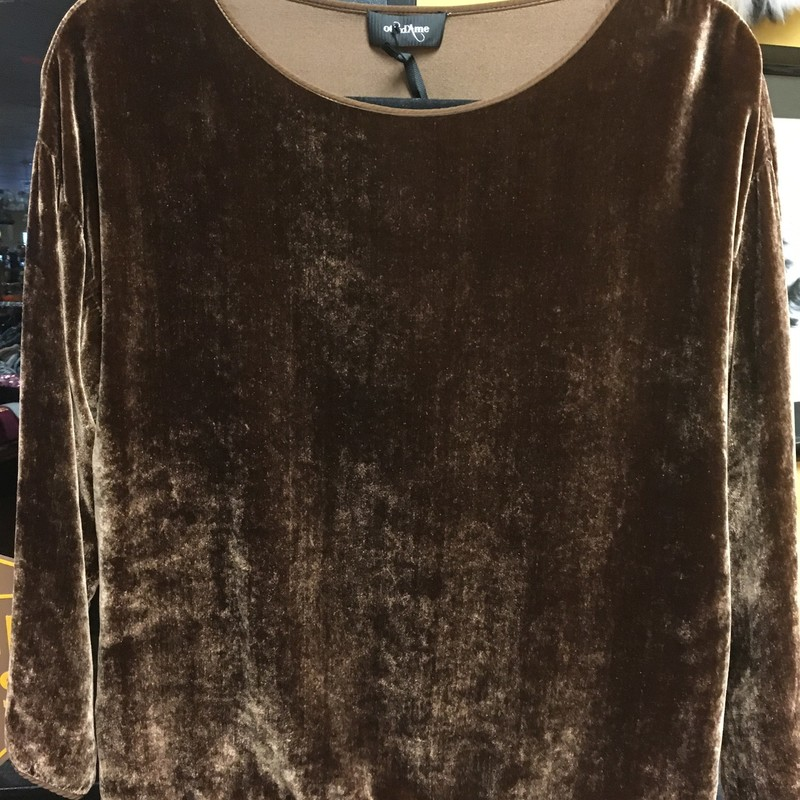 NWT Silk Velvet Top/Blous.