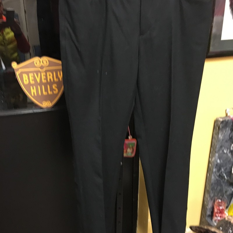 NEW Stretch Slacks, Blk, Size: 10S.