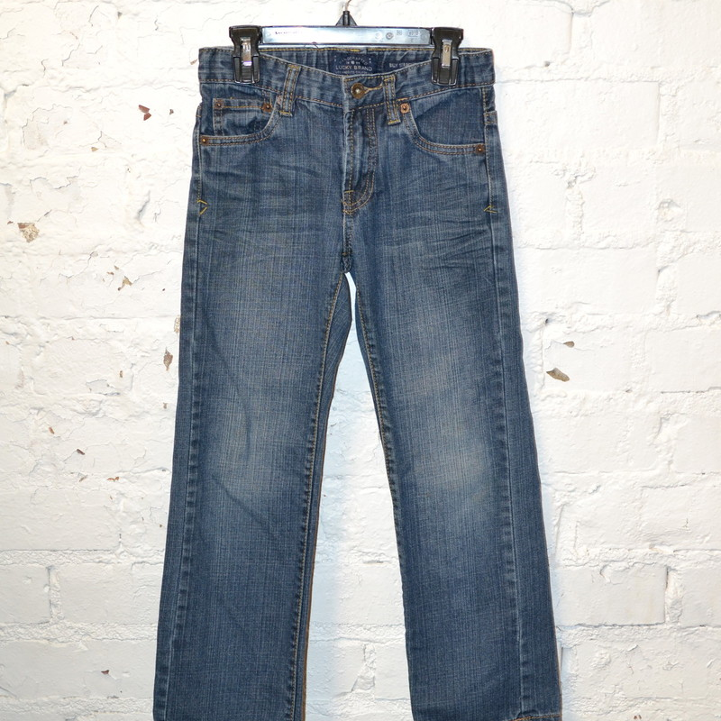Lucky brand<br /> Billy straight<br /> Size 8<br /> Adjustable waist<br /> Good condition