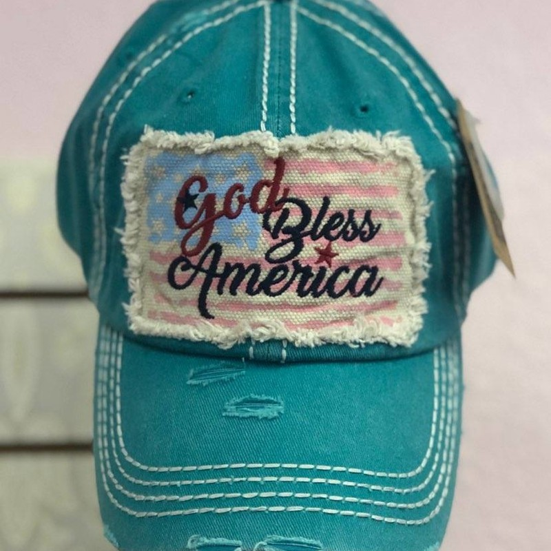 NEW America HAT<br /> This Hat is from our Tara Bella Boutique<br /> BRAND NEW<br /> Show the love for your AMERICA!<br /> Makes a Wonderful Gift!