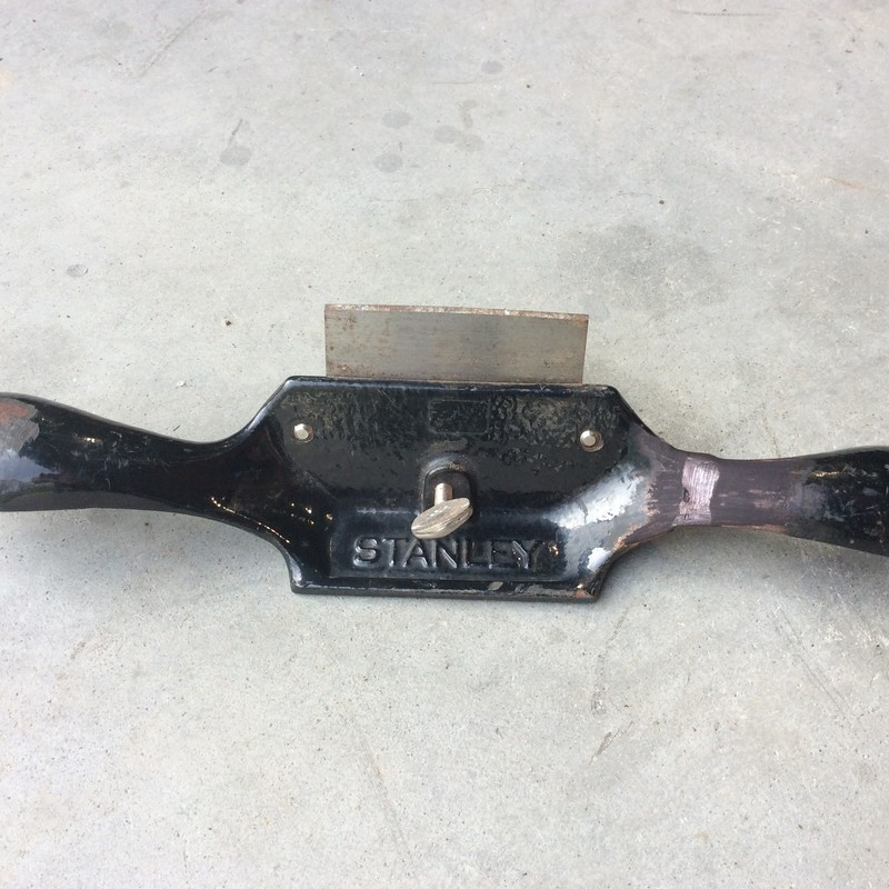 Stanley No. 80 Cabinet Scraper Plane. Has Broken Handle thats been Brazed Together.<br /> <br /> *MADE IN USA*