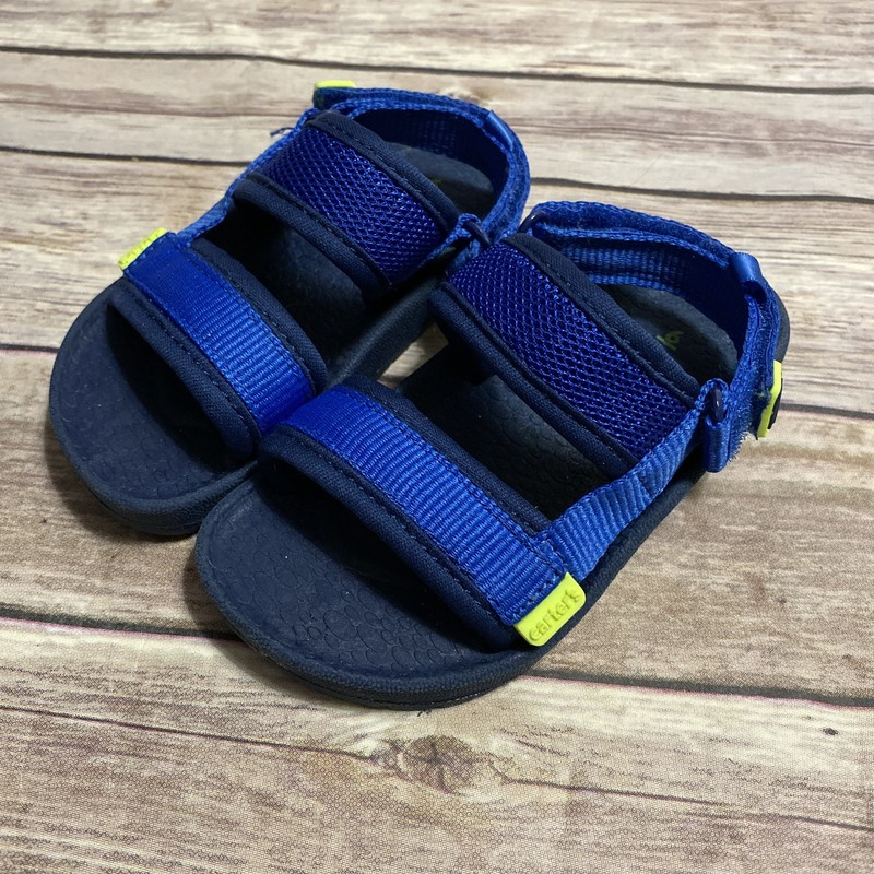 Carters Sandals, Blue, Size: Shoe 6