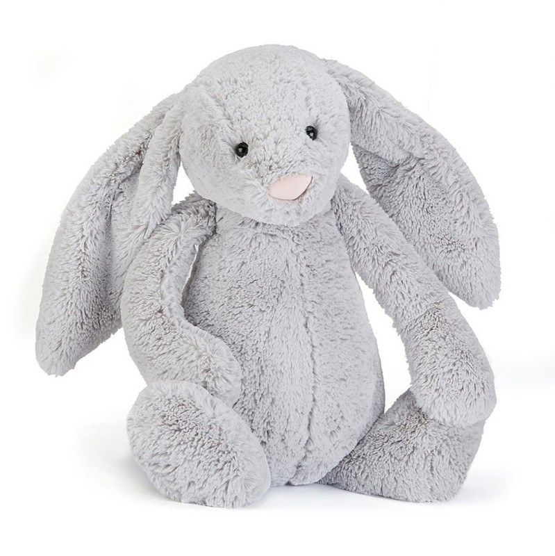Jellycat Huge Bashful Plush Bunny 18hx8w