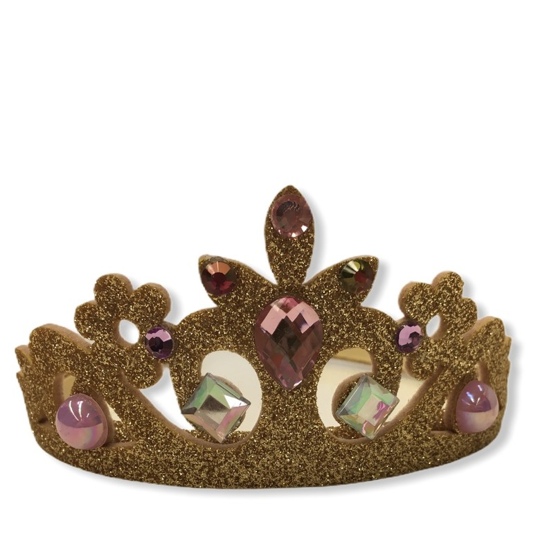 Bejeweled Crown (gold), Girl, Size: -