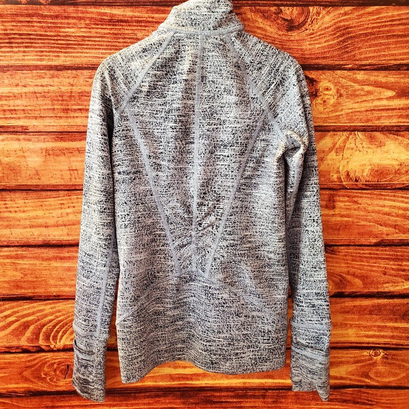 Ivivva Half Zip Up, Grey, Size: 6