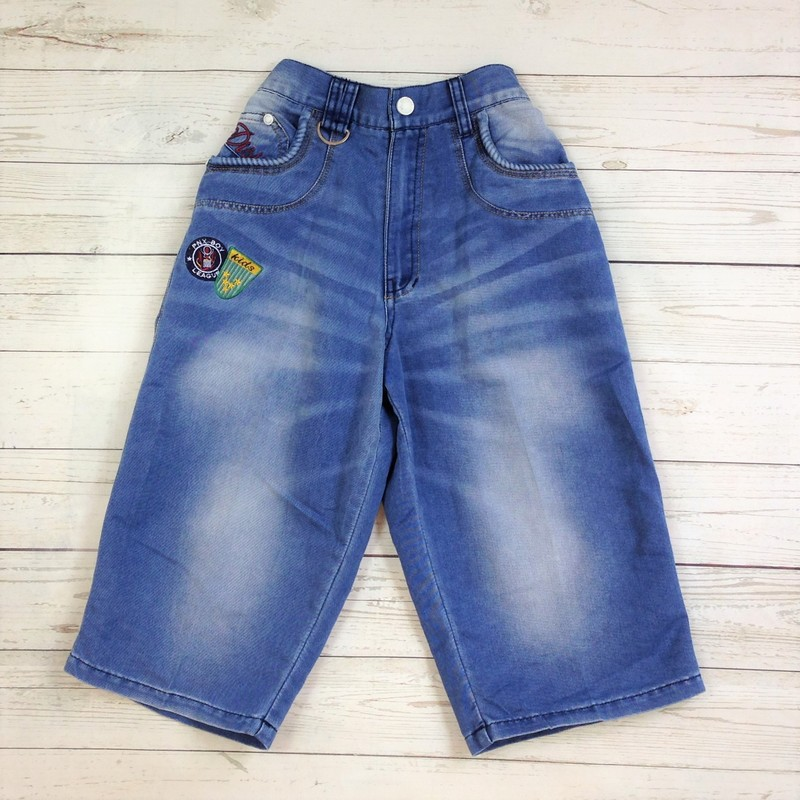 Denim Knee High Distressed, Puppet, Size: 14