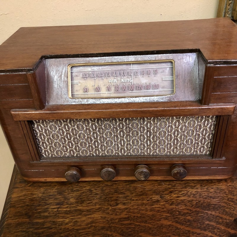 Air King 6-Tube Radio.