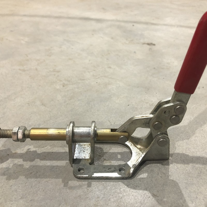 Toggle Hold Down Clamp.