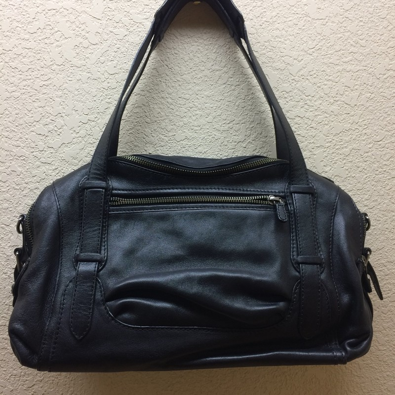 Authentic Vanessa Bruno Leather satchel. Pre owned but never been used! Measures 8 in x 12 in. beautiful satchel!