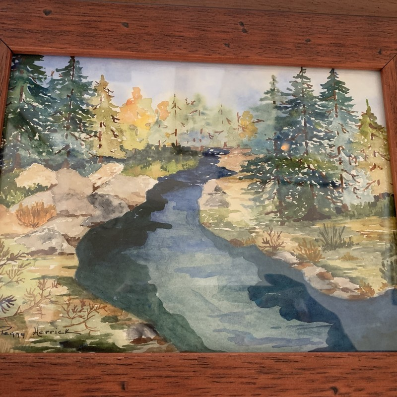 Truckee River, Size: 10x12