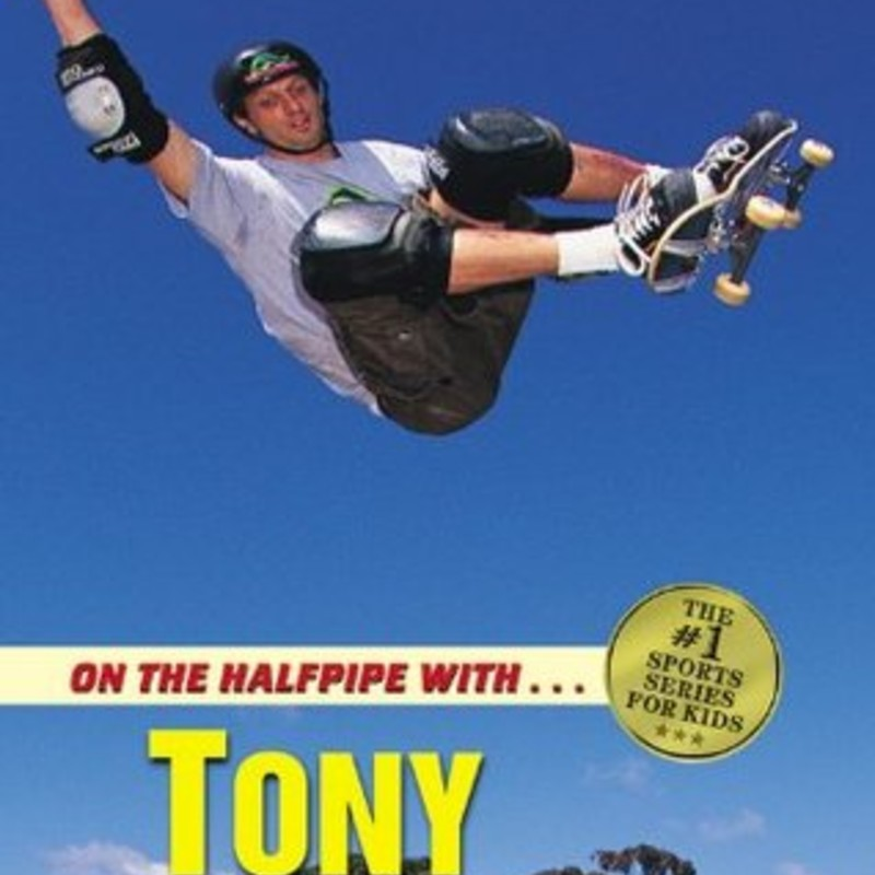 On The Halfpipe With Tony.
