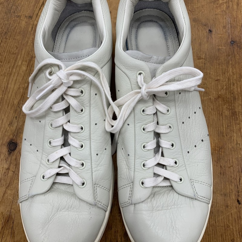 Rare Barneys New York x Adidas collab<br /> Color: Cream<br /> Size: 11<br /> Condition: Excellent, Small scuff on right toe