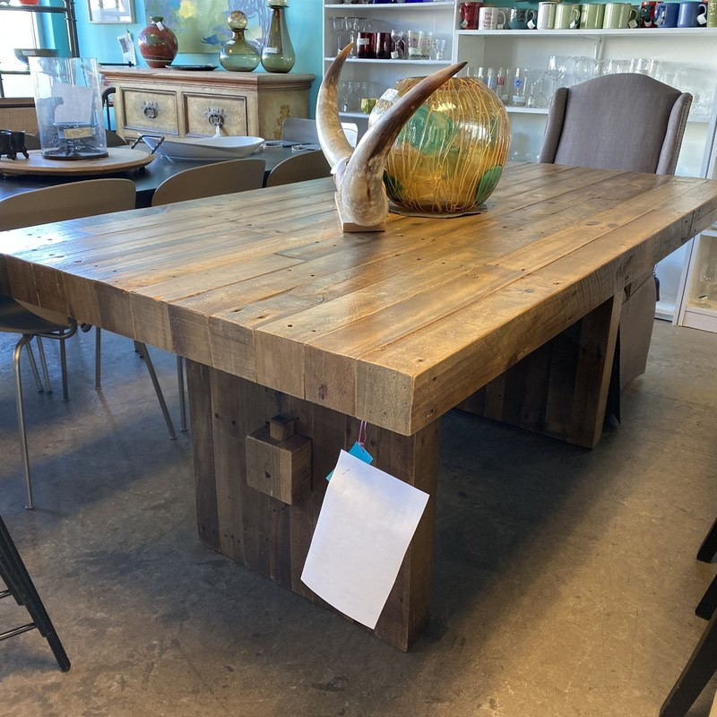 "West Elm Reclaimed Table, As Is, Emerson Style, Size: 72""x39"""