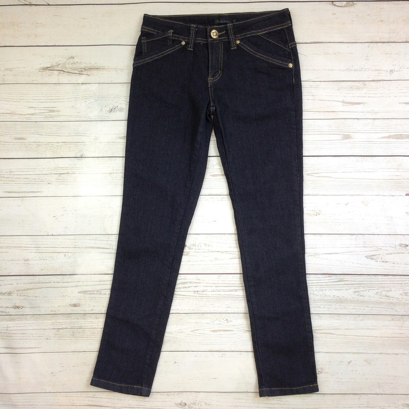 Dark Wash Denim Skinny.