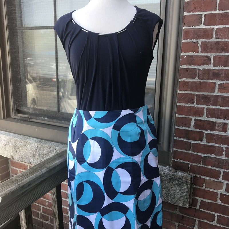 Melly M, Blue, Pencil skirt Size: 6