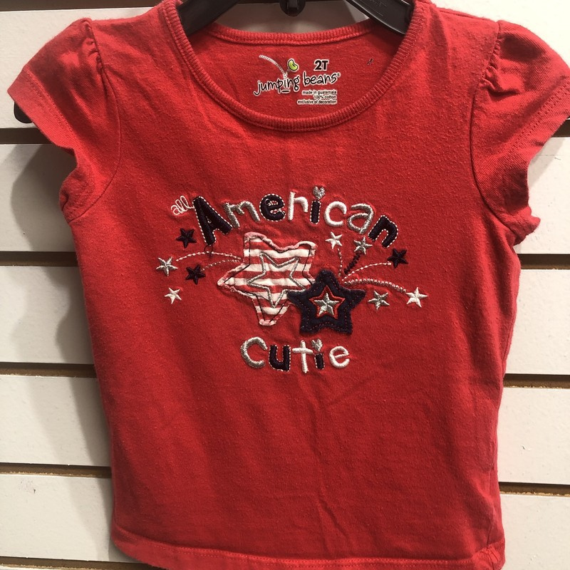Jumping Bean, Red, Size: 2T