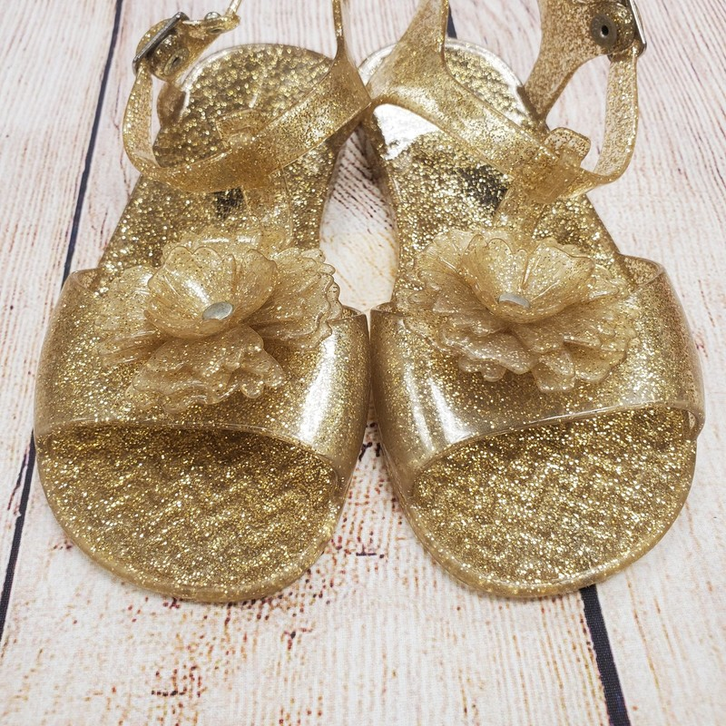 Old Navy Jelly Sandals, Gold, Size: Shoe 10