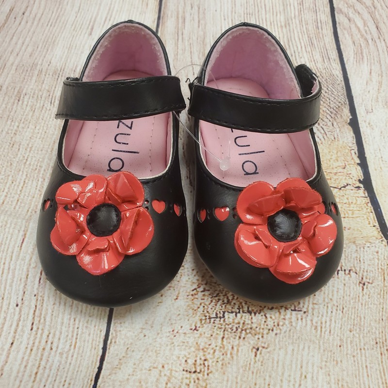Zula MJ, BlkPnk, Size: Little Kid 3<br /> (Size says 1 on shoe, but they are much bigger than newborn)