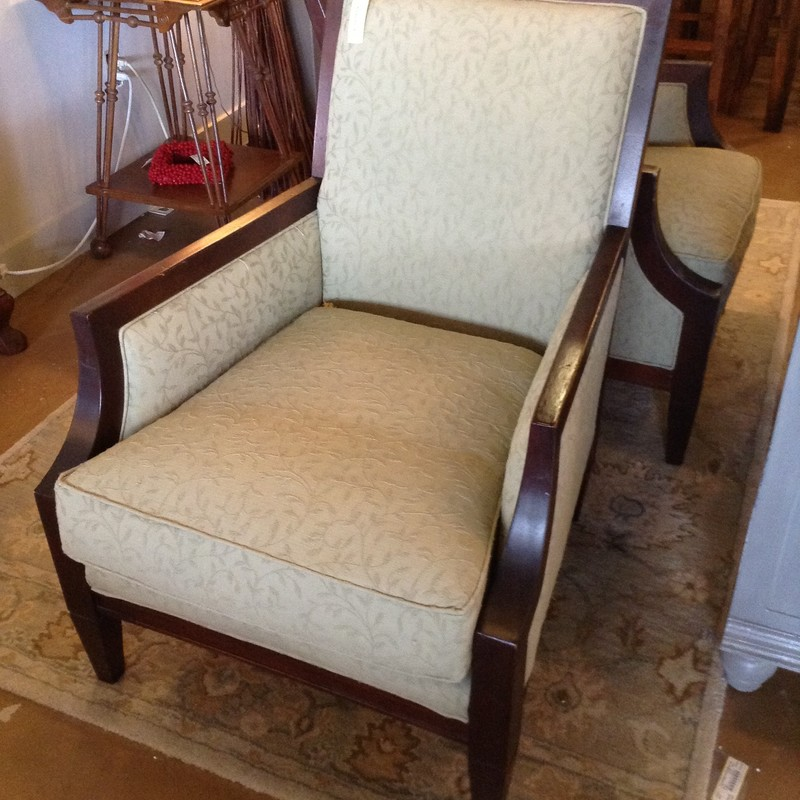 Green Sam Moore Club Chair