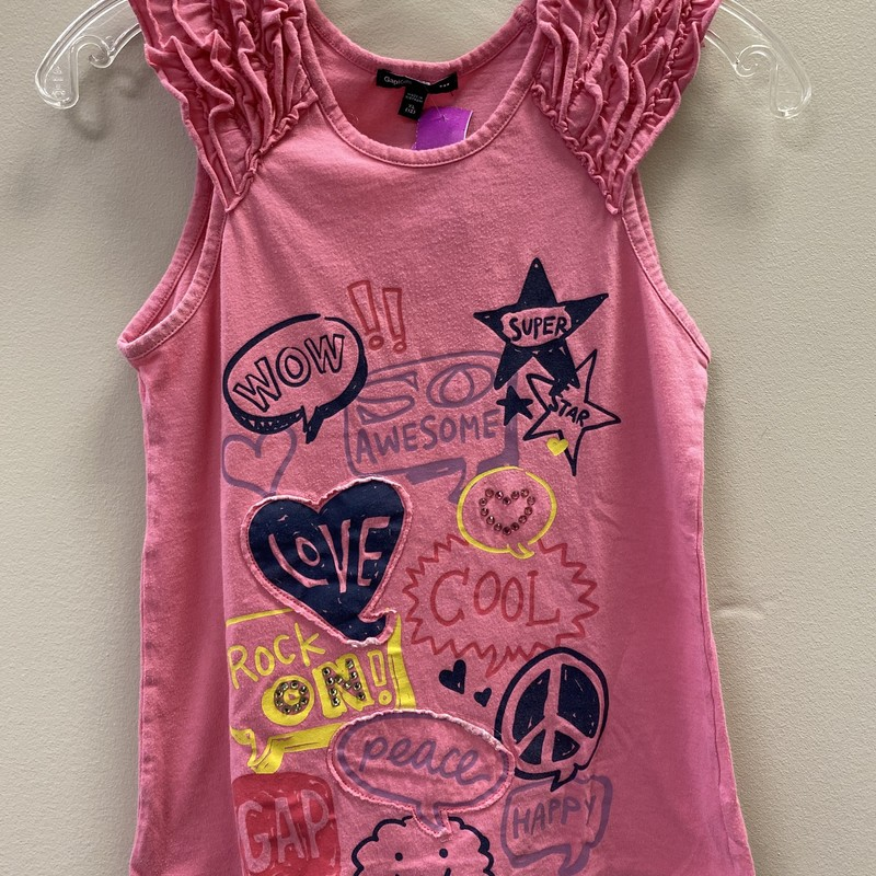 Gap SS, Pink, Size: 12 - G