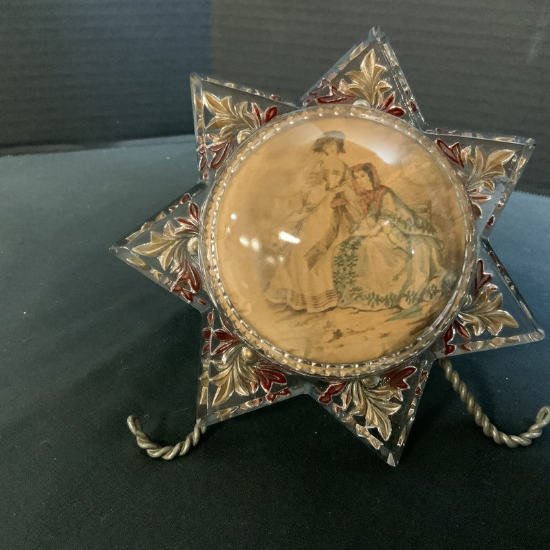 Star shape Victorian Picture