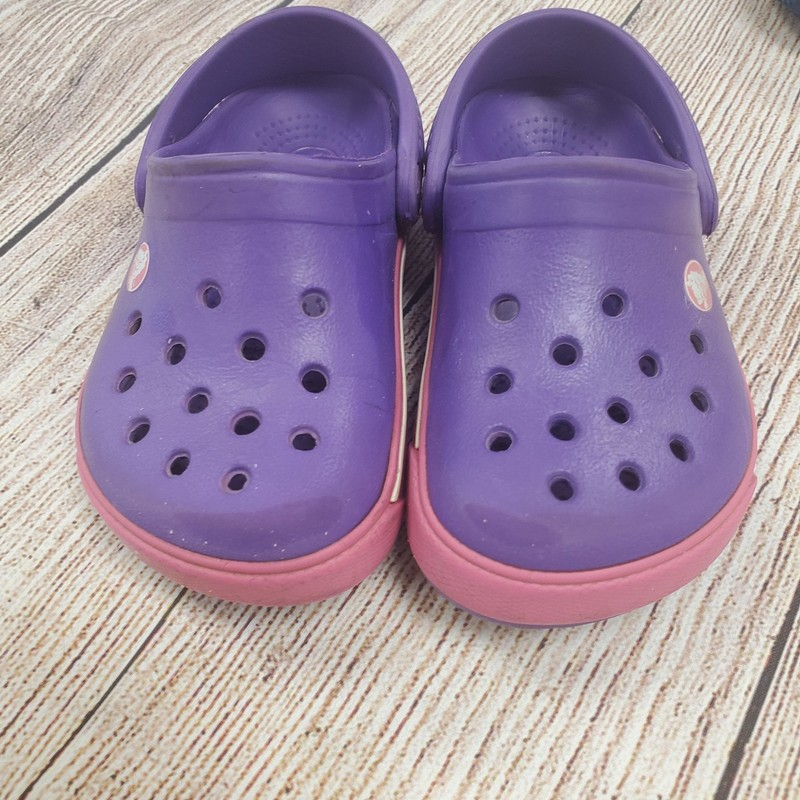Crocs, Purple, Size: Shoe 6/7