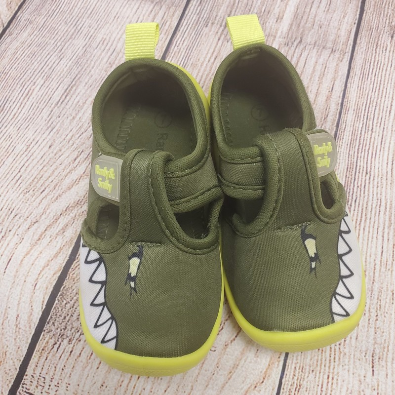 Ranly & Smily Water, Green, Size: Shoe 7