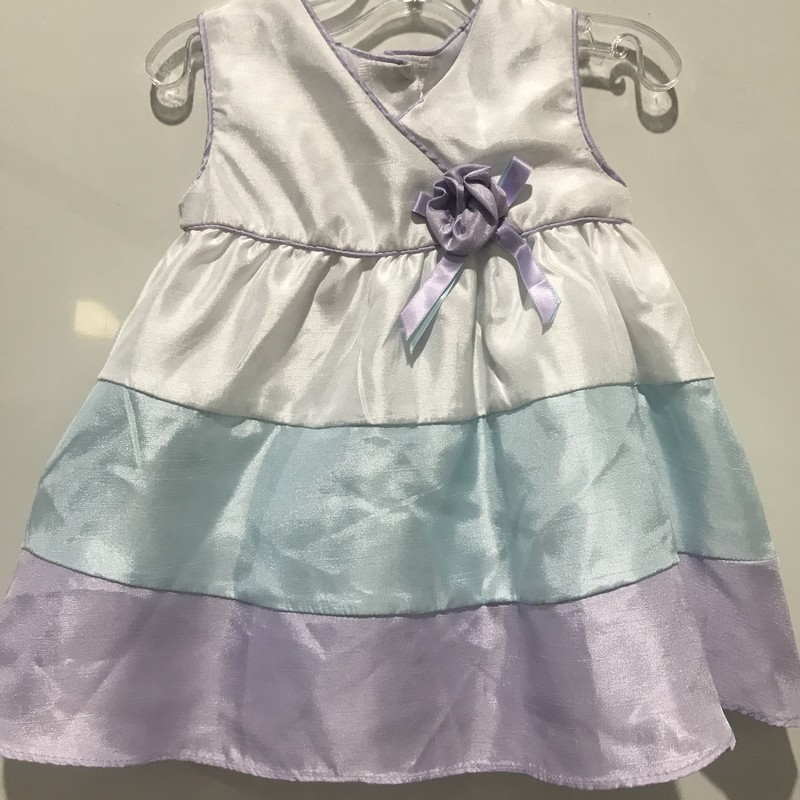 Striped Dress, Lavender, Size: 9m Girl
