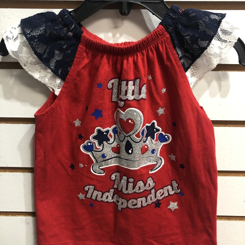 Miss Independant, Patrioti, Size: 2T