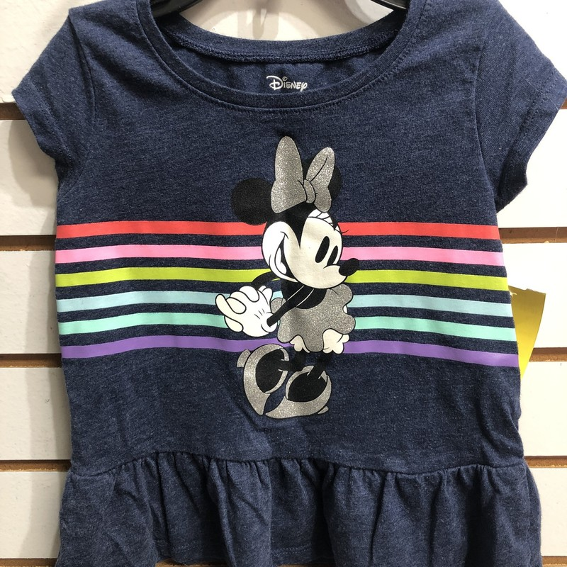 Disney Minnie Mouse, Navy, Size: 2T