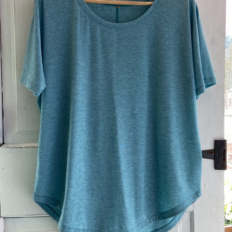 Teal Athletic Top<br /> Teal<br /> Size: XL