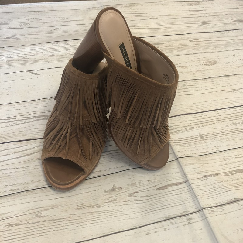 Fringe French connection Shoes  Brown, Size: 9 leather upper In great shape and so on trend!