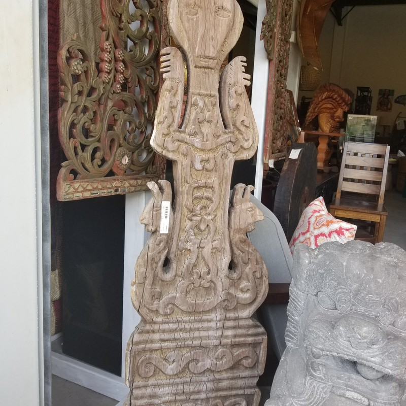 Wood Indonesian Sculpture.