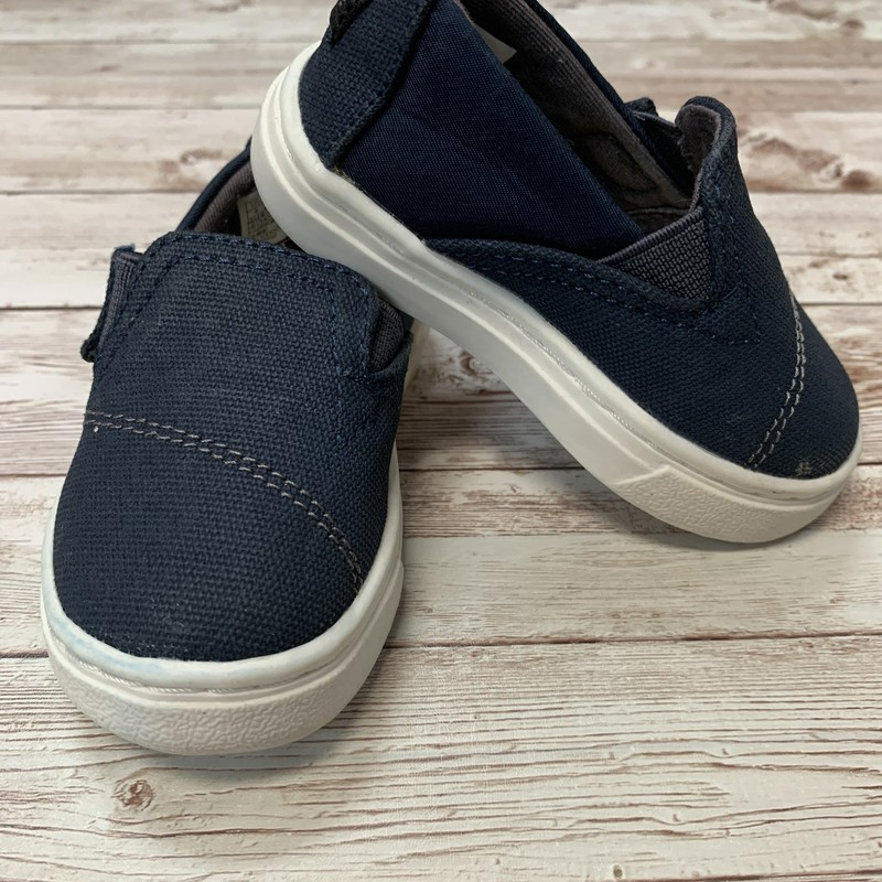 Toms Baby, Blue, Size: Shoes 4