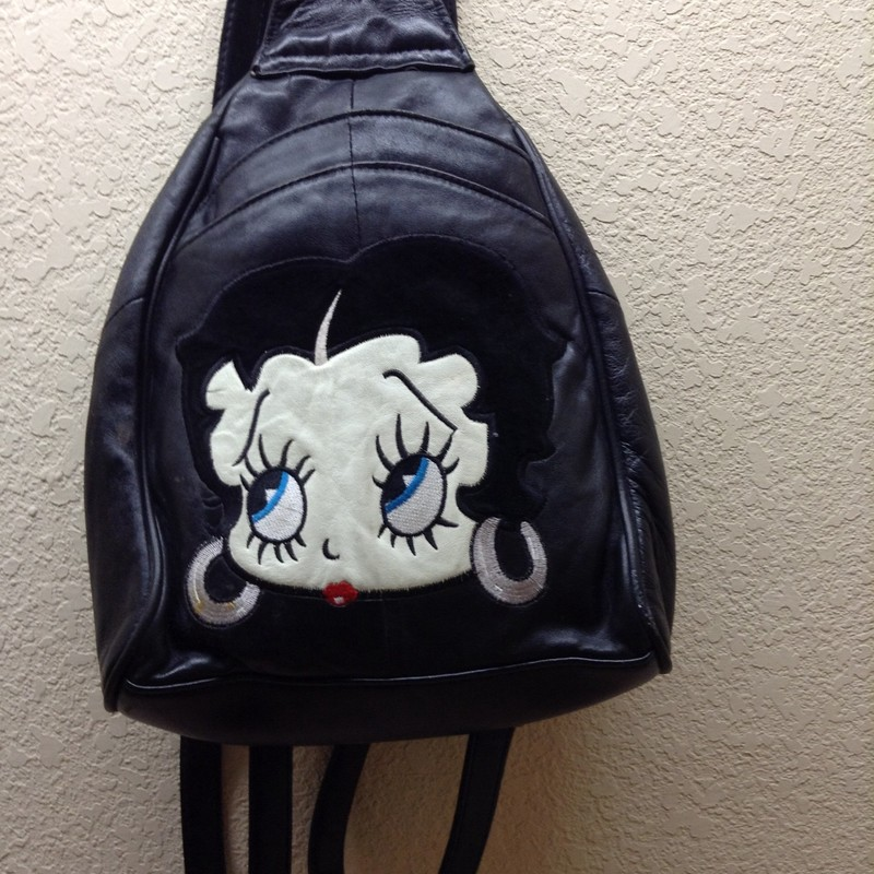 Betty Poop Back Pack