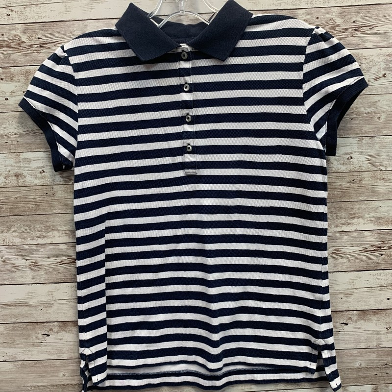 Lands End Stripe Polo.