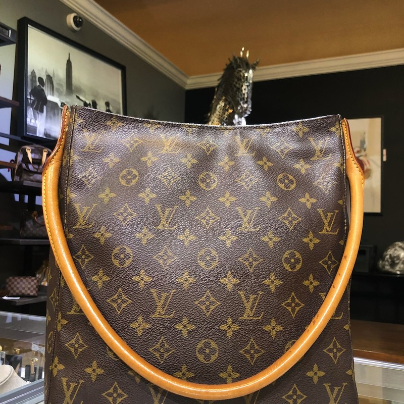 LV Mono Looping Tote, Excellent condition