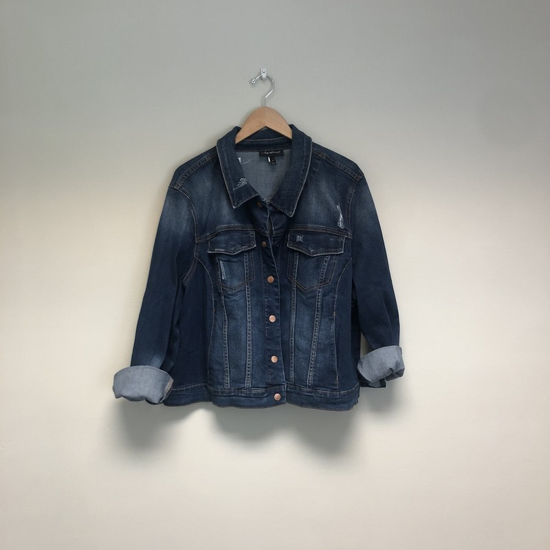 Lane Bryant Jean Jacket.