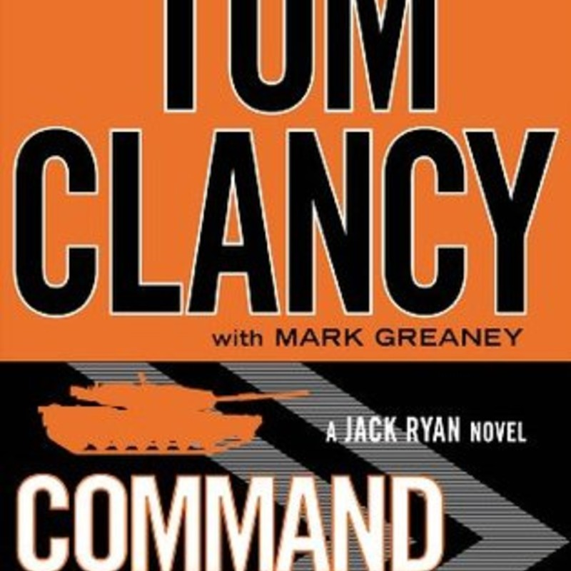 Audio CD's<br /> <br /> Command Authority<br /> (Jack Ryan #9)<br /> by Tom Clancy, Mark Greaney (Goodreads Author)<br /> <br /> Decades ago, when he was a young CIA analyst, President Jack Ryan, Sr. was sent on what was supposed to be a simple support mission to investigate the death of an operative who had been looking into suspicious banking activities at a Swiss bank. Ryan's dogged tenacity uncovered not only financial deceit, but also the existence of a KGB assassin, code-named Zenith. He was never able to find the killer. But in the shadowy world of covert operations, nothing stays hidden forever. In the present, a new strongman has emerged in the ever-chaotic Russian republic -- the enigmatic President Valeri Volodin. His rise to power was meteoric, but shrouded in deception and treachery. The foundations of his personal empire are built on a bloody secret from his past, and he will eliminate anyone who comes close to that truth. For he has set in motion a plot to return Russia to its former glory and might, with the rest of the world once again trembling in fear of the mighty Bear. When an old friend of the Ryans is poisoned by a radioactive agent, the trail leads to Russia. And Jack Ryan, Jr. -- aided by his compatriots John Clark and the covert warriors of the secretive Campus -- must delve into an international conflict thirty years in the making, and finish what his father started.