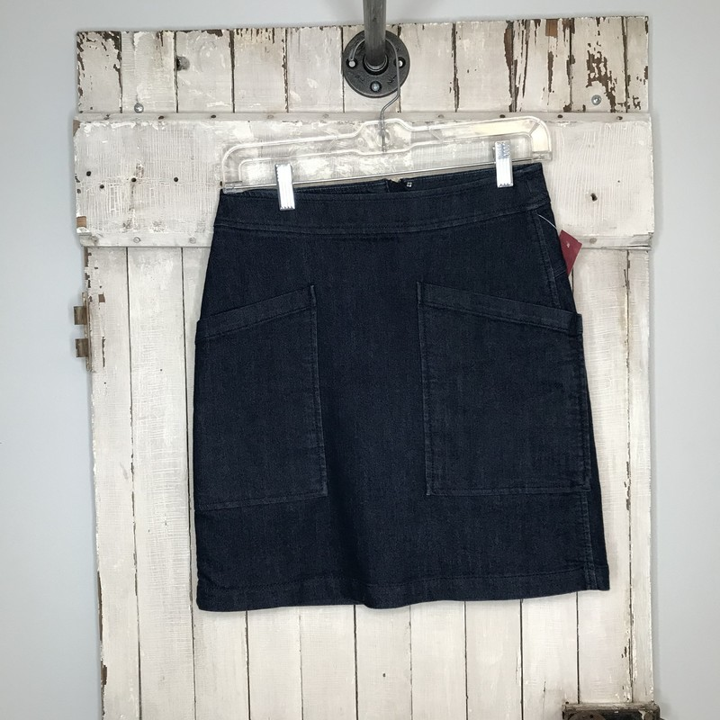 Skirt ATL, Denim, Size: 0