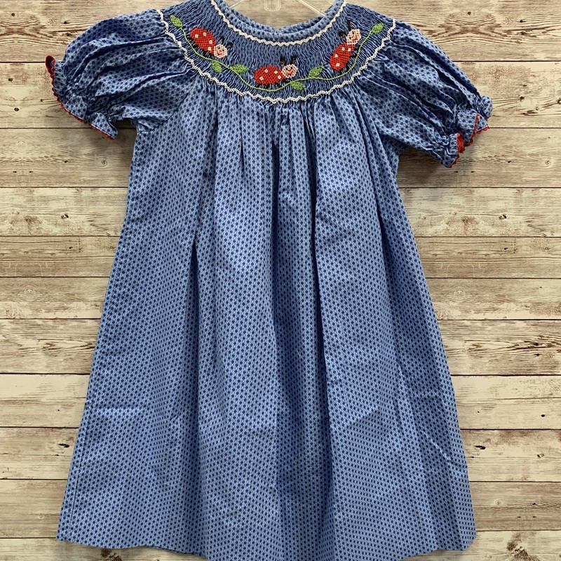 Velani Smocked Dress.