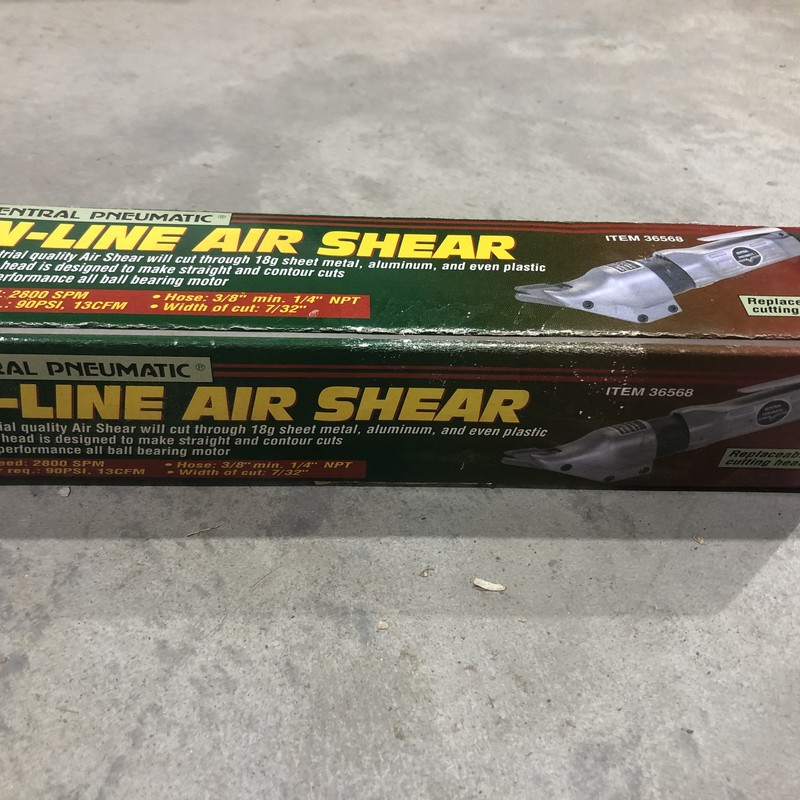 In-Line Air Shear.