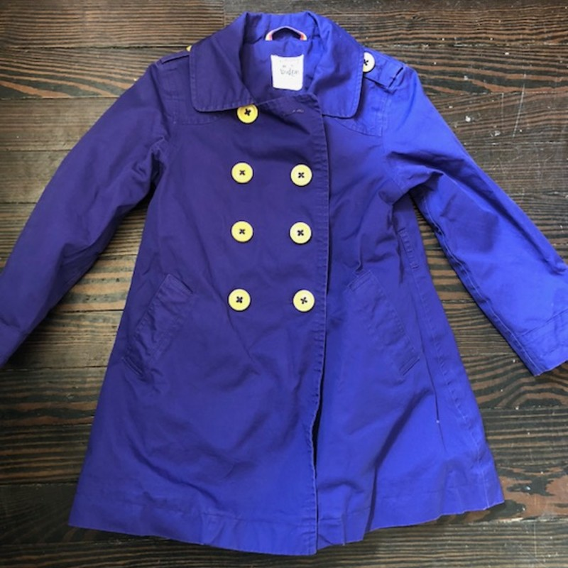 100% Cotton Lined Jacket from Mini Boden in size 5/6!