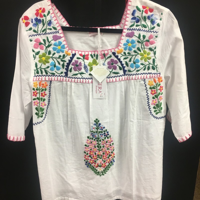 NWT Embroderied Blouse.