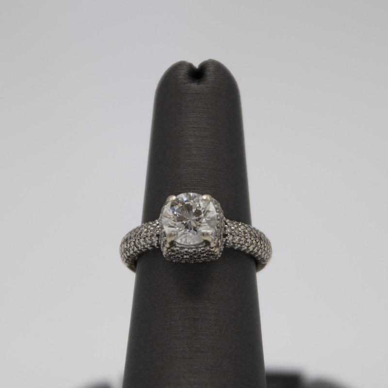 14k WG 1.55ct H VVS2, None, Size: ITHH